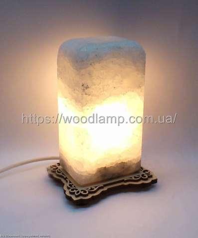 Соляной светильник Прямоугольник, лампа, ночник