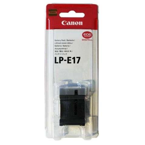 Аккумулятор Canon LP-E17 1040mAh (оригинал)
