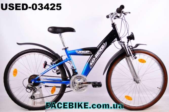 БУ Подростковый велосипед Kid-Rider-Гарантия,Документы-у нас Большой в