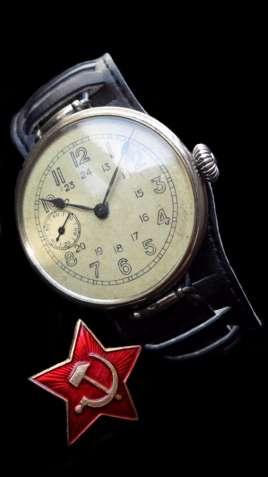 ЧАСЫ ВЕЛИКОЙ ОТЕЧЕСТВЕННОЙ ВОЙНЫ, АУТЕНТИЧНЫЕ, СССР 1938г. механика - изображение 4