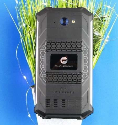 Защищенный смартфон с ёмкой батареей PHONEMAX Rocky 2