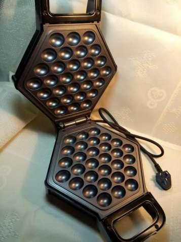Вафельница для гонконгских вафель, черная