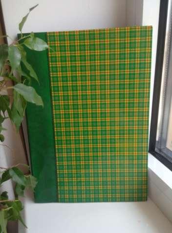 Тетрадь большая/блокнот А4 96 листов клетка