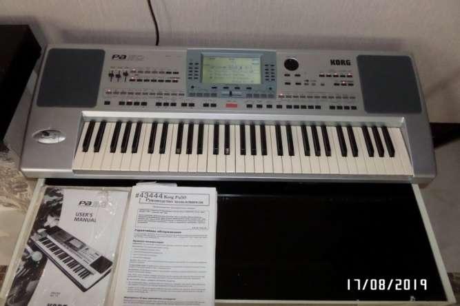 Професіональний синтезатор, аранжувальник Korg Pa 50