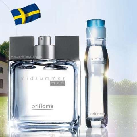 Midsummer Oriflame Орифлейм мужская туалетная вода Раритет