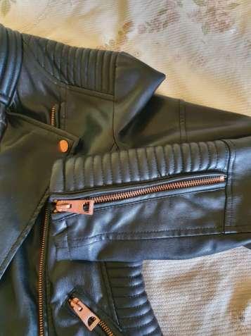 Кожанка косуха кожаная куртка эко кожа европейское качество